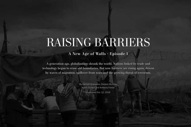 Raising Barriers